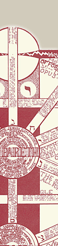 Kabbalah Poster close-up